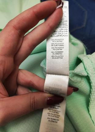 Платье салатовое мятное ментоловое эластичное new look6 фото