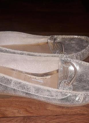 Туфли балетки, мокасины  известного английского бренда roberto vanni! 39 размер.