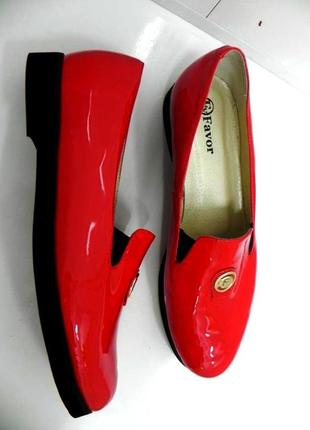 Стильные лоферы туфли мокасины кожа 40