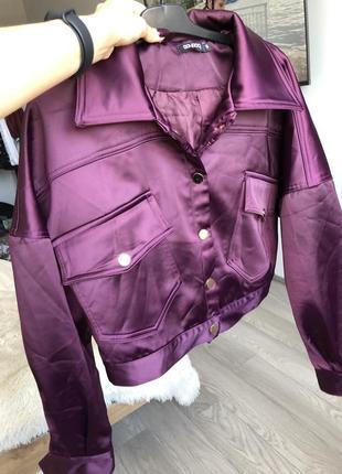 Куртка бомбер короткая куртка