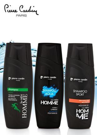 Pierre cardin shampoo 400 ml - набор 3шт
