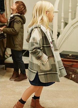 Пальто демисезонное lefties для девочки 2-3 г, пальто демісезонне