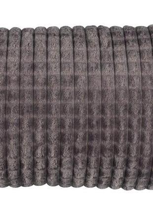 Декоративная подушка 30*50 см серая