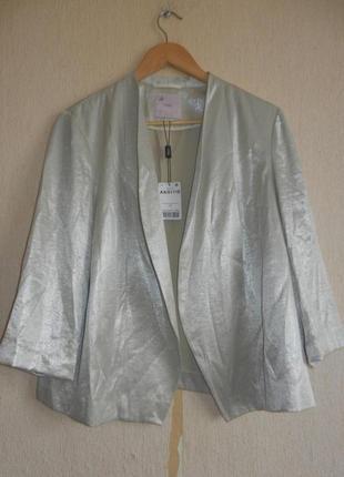 Стильный брендовый пиджак жакет украсит нарядный лук