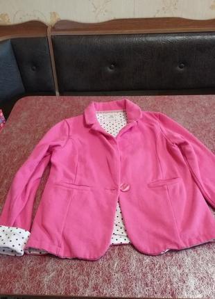 Пиджак нарядный  10-11л