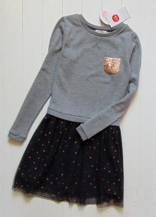 Cool club. размер 11 лет. шикарное платье для девочки