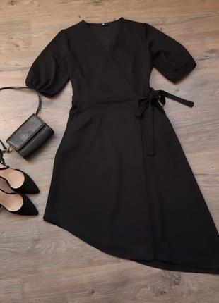 Длинное платье на запах. плаття на запах. сукня