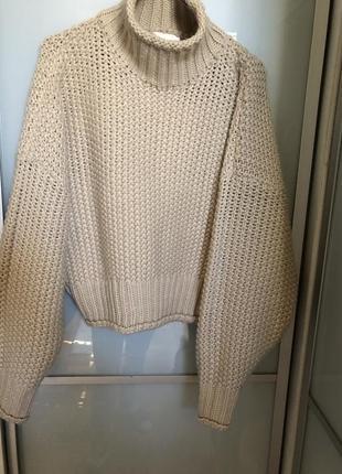 Классный свитер крупная вязка
