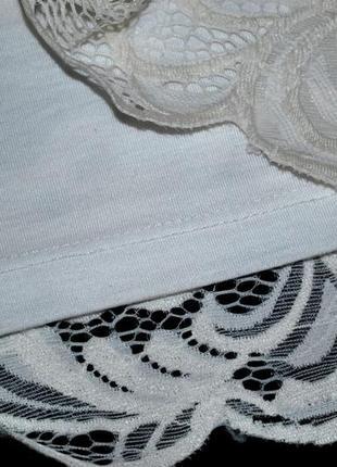 Платье h&m швеция xs-s роскошное нарядное белое ажурное нежное женственное4 фото