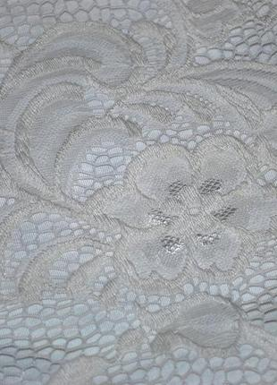 Платье h&m швеция xs-s роскошное нарядное белое ажурное нежное женственное7 фото