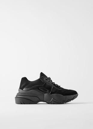 Стильні базові кросівки /кроссовки zara в наявності розміри 36,37