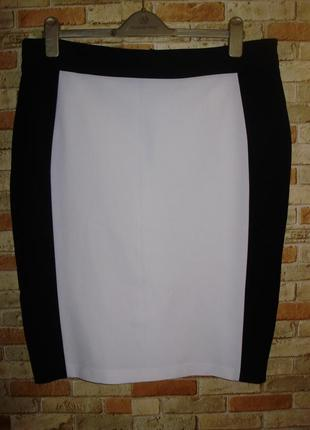 Стильная юбка карандаш на подкладке 20/54-56 размера