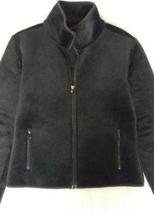 Велюровая неопреновая кофта куртка