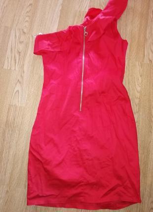 Вечерние короткое платье нарядное с паетками4 фото