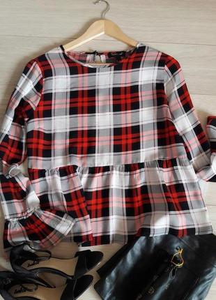 Стильная /блуза/рубашка/new look размерm
