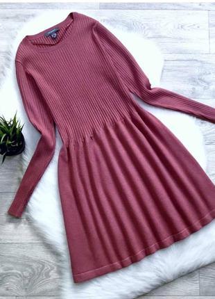 Пудрое платье, платье с рукавами, primark