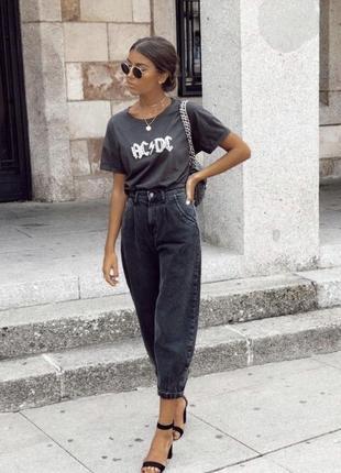 Круті джинси slouchy zara в наявності  34