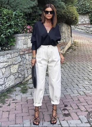 Круті джинси slouchy zara в наявності  34,36
