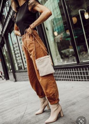 Круті джинси slouchy zara в наявності  38