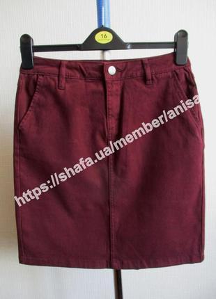 Котоновая юбка-карандаш tcm tchibo