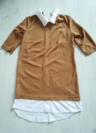 Лёгкое платье - рубашка