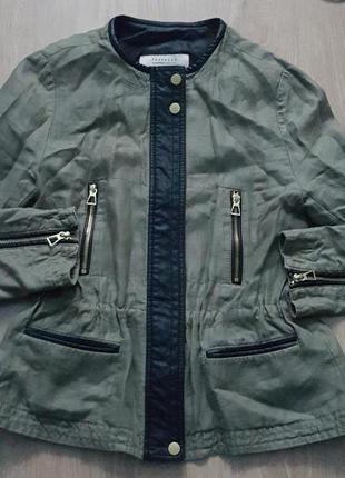 Фирменная,оригинальная куртка-ветровка zara1