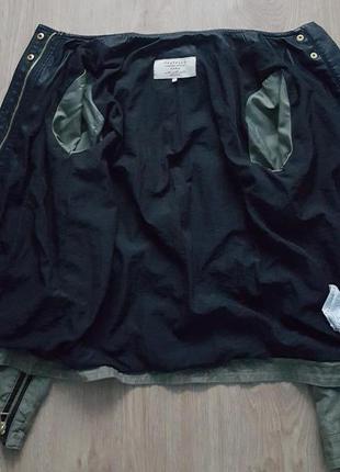 Фирменная,оригинальная куртка-ветровка zara2