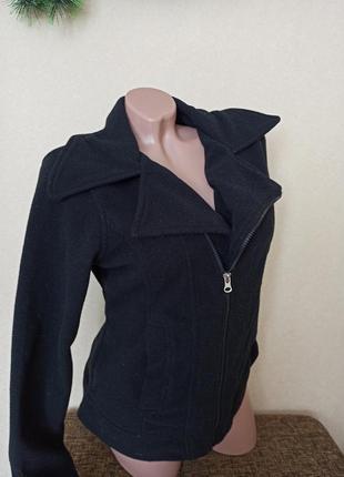 Sale пальто демисезонное чёрное, кофта косуха на молнии