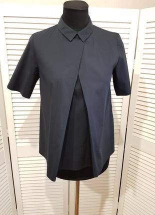 Стильная синяя блуза cos