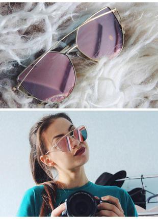 Крутейшие зеркальные очки