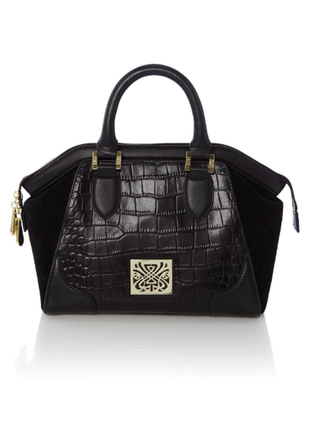 Biba оригинал большая кожаная сумка саквояж в идеале натуральная кожа/замш