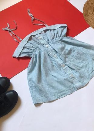 Классная лёгкая блуза блузка майка на завязках influence. р-р 12/40
