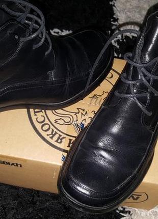 Ботинки кожа barratts