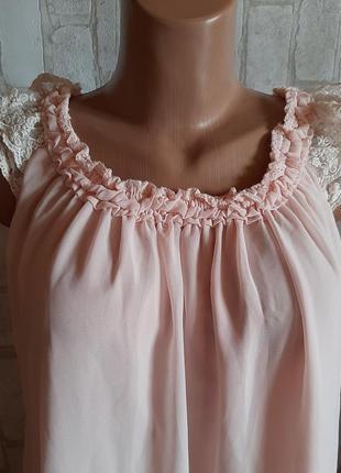 Блуза l  розовая