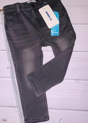 Классные утеплённые джинсы