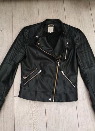 Куртка косуха zara рр 8-10 (26-28)