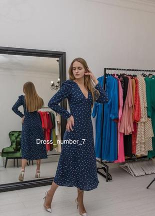 Zara платье в горох, xs, s, m, l