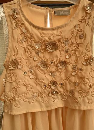 Платье i love girls wear на рост 110-122,  5-6 лет