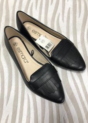 Женские балетки esmara, туфли, лоферы новые р. 36