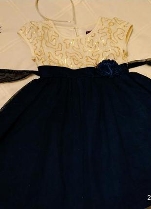 Нарядное детское платье sugar plun