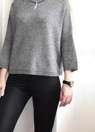 М – стильный кашемировый джемпер оверсайз – кофта свитер – 100% кашемир - новый