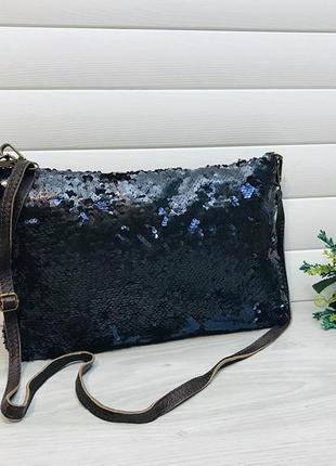 Кожаная сумка из натуральной кожи итальянского бренда vera in pellet