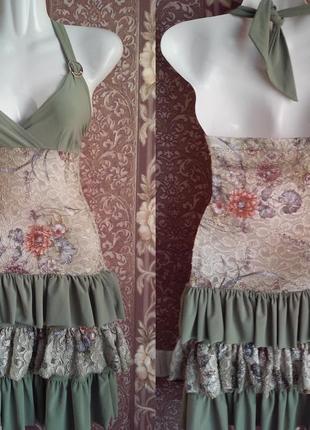 Платье сарафан нарядное на девочку-подростка
