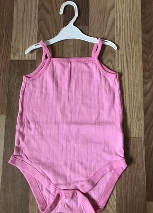 Боді/боди/для дівчинки/для девочки/f&f/рожевий