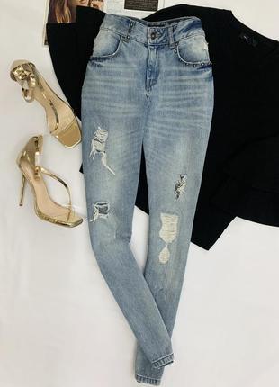 Стильные прямые джинсы от motivi