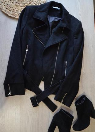 Актуальная куртка косуха короткое пальто debenhams  red herring 42/14 xl