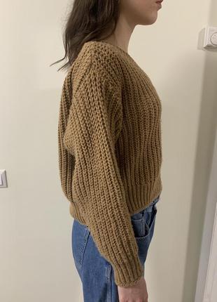 Оверсайз свитер h&m
