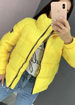 Стильная демисезонная короткая куртка