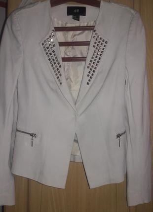 Пиджак  стильный пиждак h&m