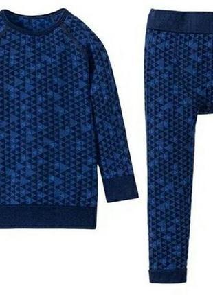 Термобелье для мальчика термоподштанники термо комплект одежда lupilu германия